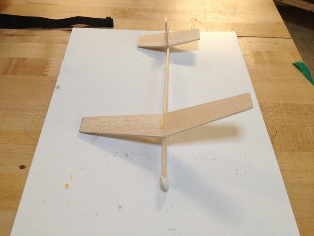 Model Balsa Wood Glider Plans